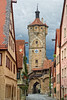 Rothenburg town view.