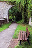Rothenburg, Rothenburg ob der Tauber, Germany, Ansbach, Bavaria, Bayern, Ansbach District, Franconia, Mittlefranken, Bench