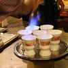 Rüdesheim Germany, Rüdesheimer Schloss Restaurant, Flaming Brandy Coffee Specialty, Rüdesheim Coffee