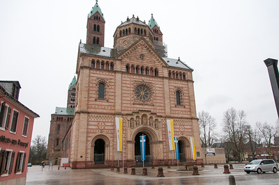 The Speyer Cathedral in Speyer, Germany