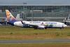 """D-ASXB Boeing 737-8Z9 """"SunExpress Germany"""" c/n 30420 Frankfurt/EDDF/FRA 04-06-17 """"Die Schlümpfe"""""""