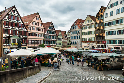 Farmer's Market in Tübingen, Germany