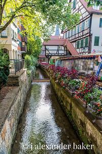 Small Canal in Tübingen, Germany