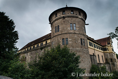 Hohentübingen Castle in Tübingen, Germany