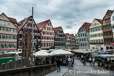 Farmer's Market in Tübingen, Germany