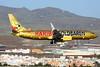 """D-ATUD Boeing 737-8K5 c/n 34685 Las Palmas/GCLP/LPA 05-02-16 """"Haribo GoldBären"""""""