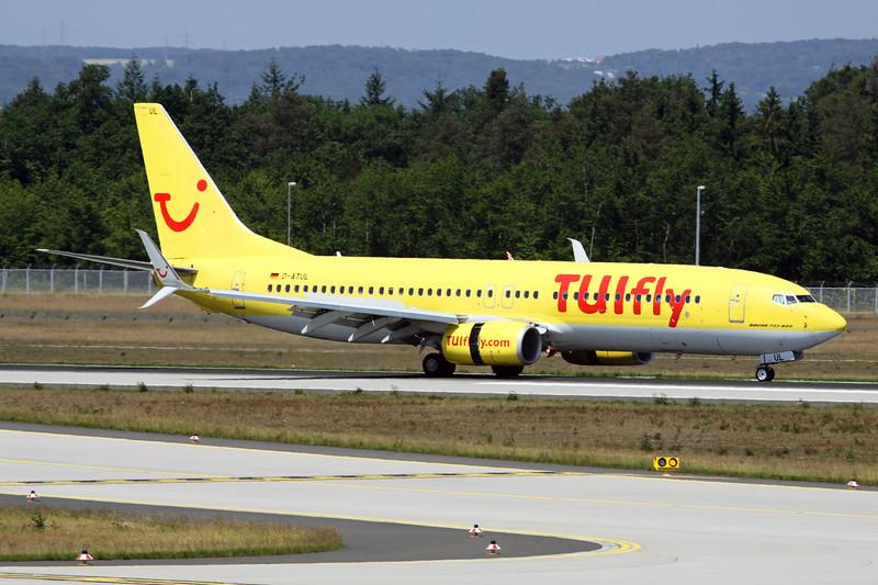D-ATUL Boeing 737-8K5 c/n 38820 Frankfurt/EDDF/FRA 04-06-15