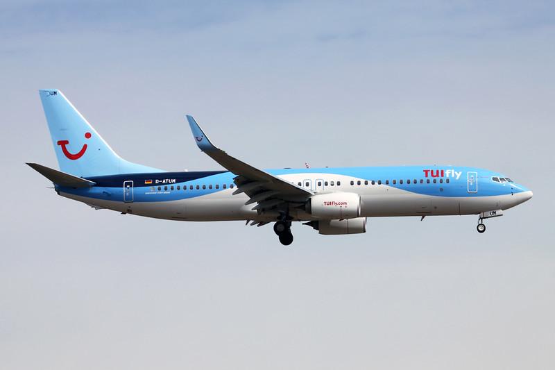 D-ATUM Boeing 737-8K5 c/n 37240 Frankfurt/EDDF/FRA 26-06-14