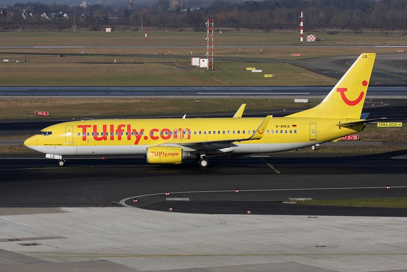D-AHLQ Boeing 737-8K5 c/n 32906 Dusseldorf/EDDL/DUS 30-01-09