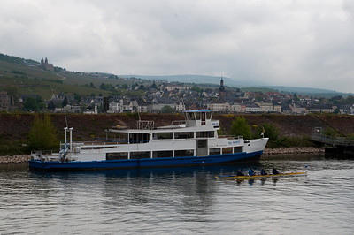 The Rhine River in Germany