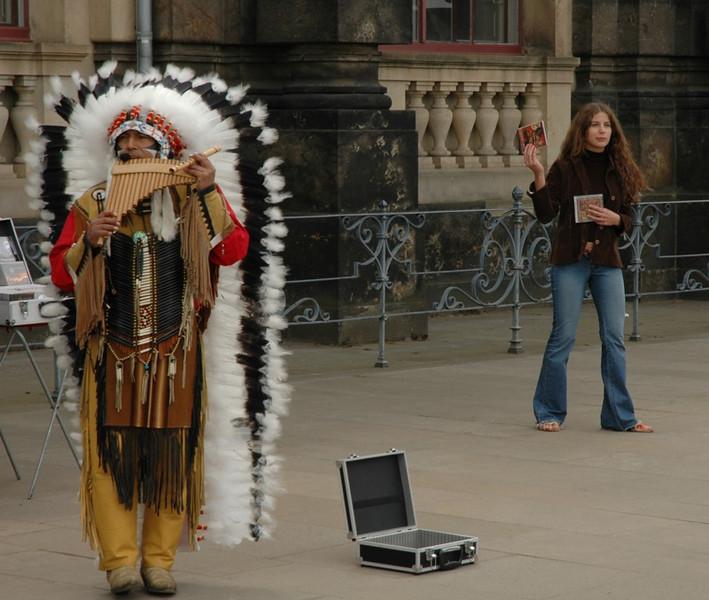 Street Musician - Dresden, Germany