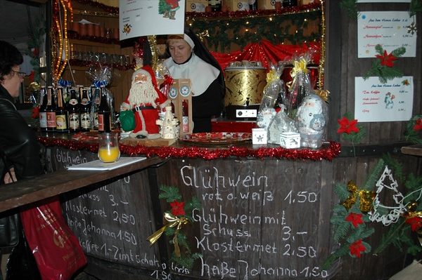 Gluhwein at Neustadter Markt - Dresden, Germany