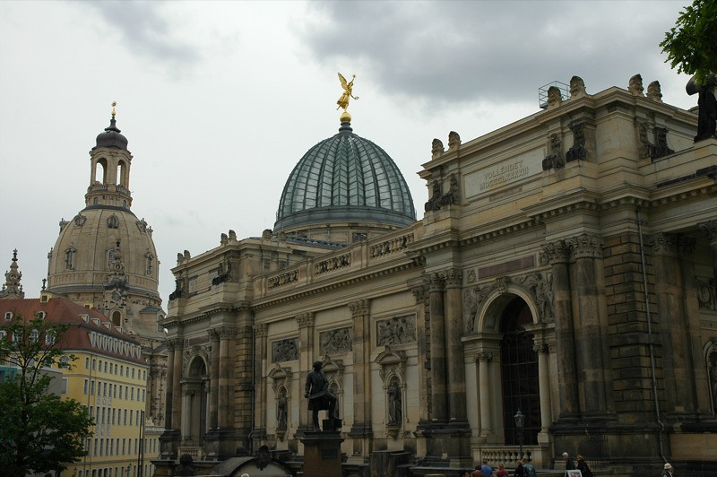 Dresden's Altstadt (Old Town) - Germany