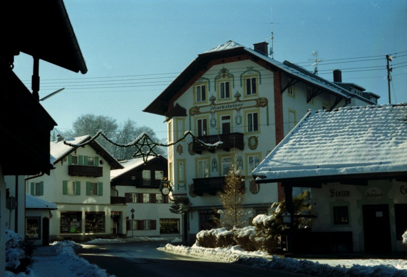 Village in the Bavarian Alps - Germany