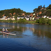 Trier Germany, Rowing on the Moselle River