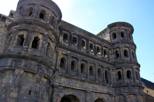 Roman gate in Trier