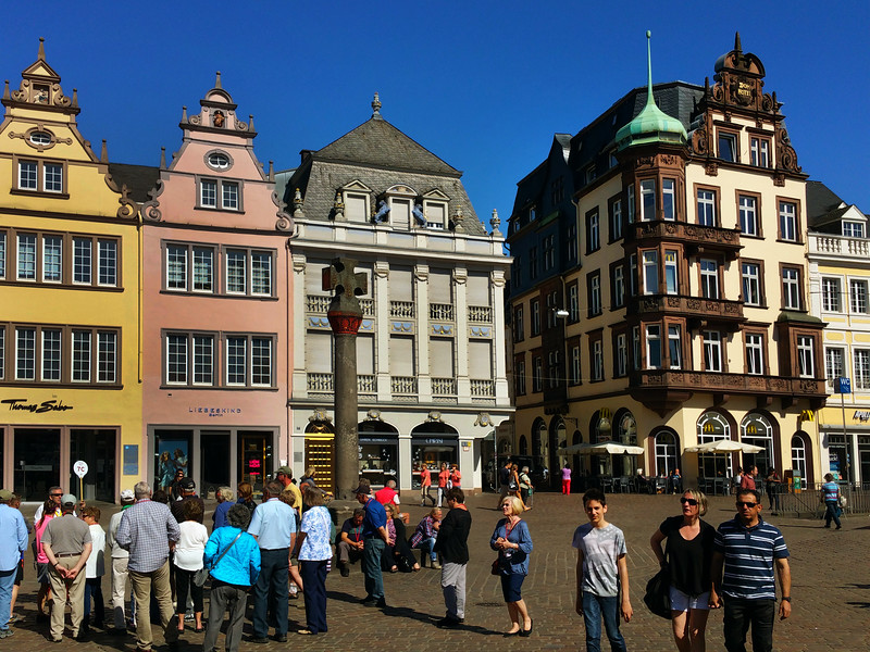 Trier Germany, Market Square & 10th Century Cross