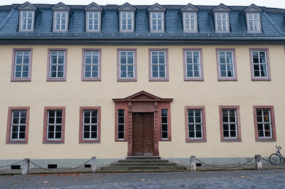 Goethe's House in Weimar, Germay