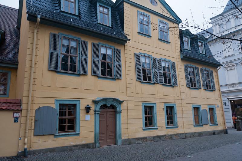 The Schiller-Museum in Weimar, Germany