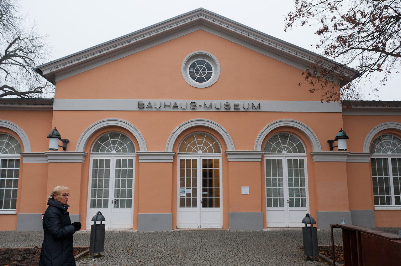 The Bauhaus Museum in Weimar, Germany