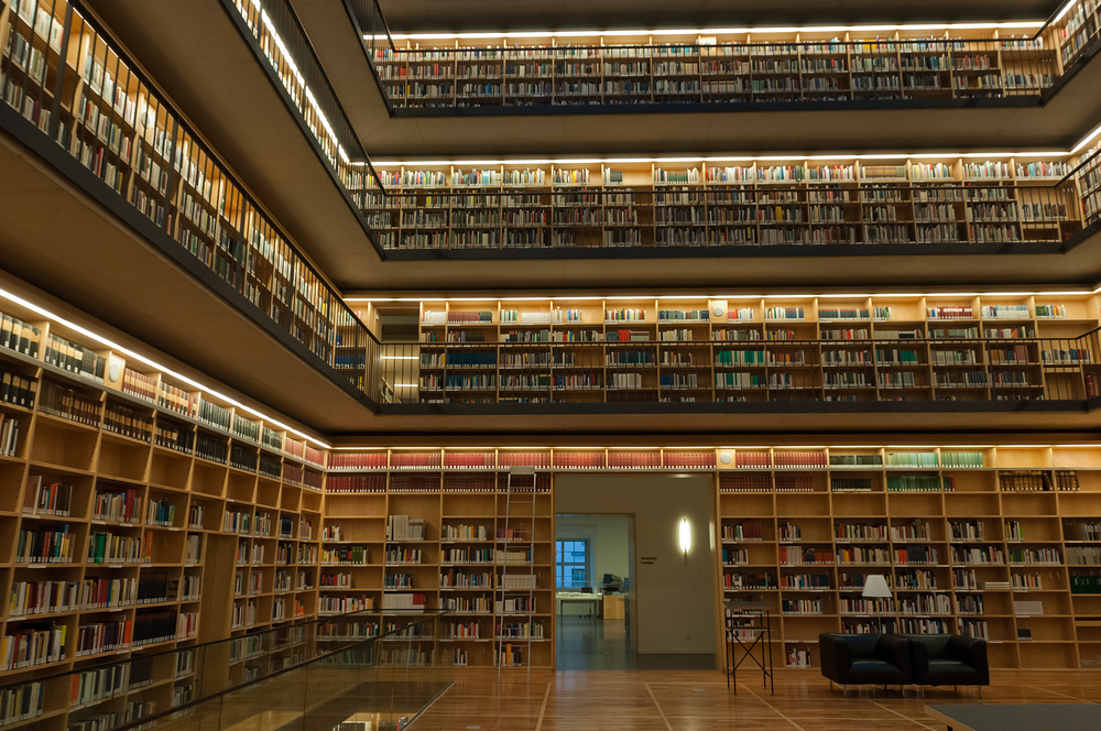 Duchess Anna Amalia Library in Weimar, Germany
