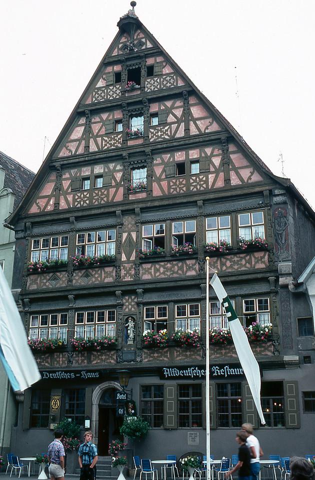 Dinkelsbühl - Deutsches Haus