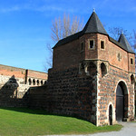 Gatehouse of the Walled Town of Zons, Germany – Photo
