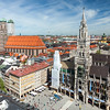Aerial view of Munich, Germany