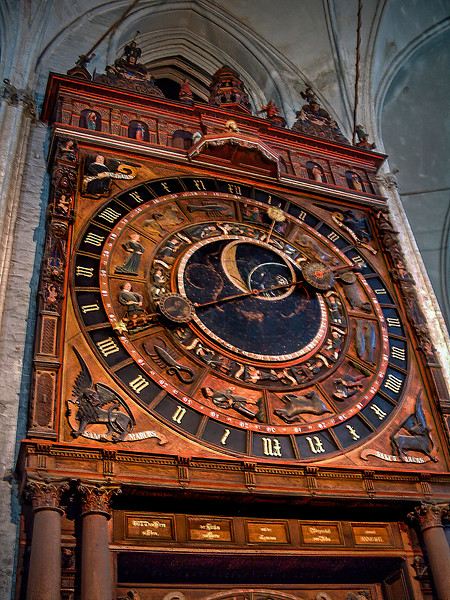 Rostock - St. Mary's Church - Astronomical Clock (1472)