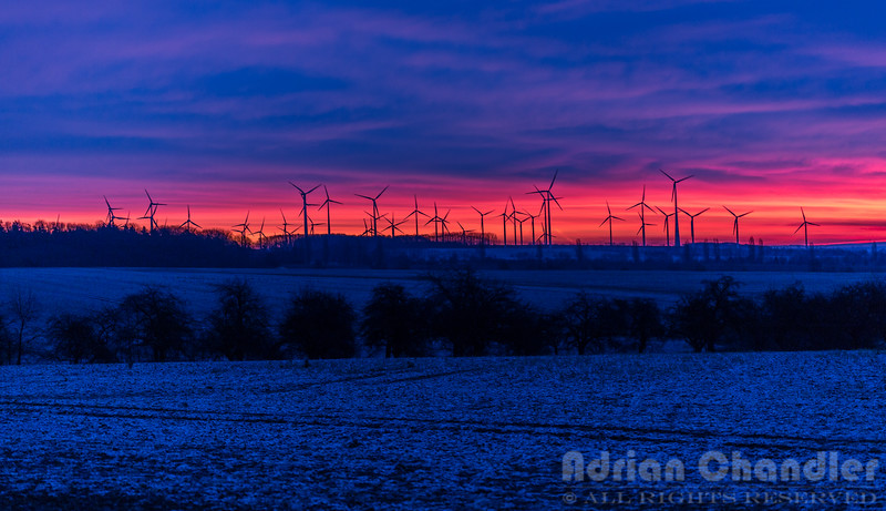 Windfarm Sunrise