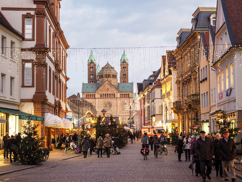 Speyer, Germany at Christmas
