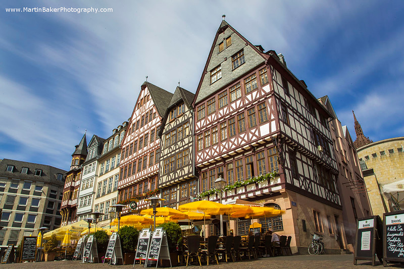 Römer Square, Frankfurt, Germany.