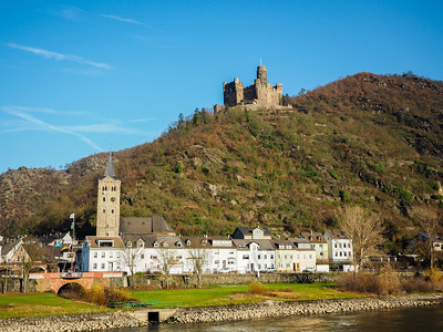 Middle Rhine Valley in Germany