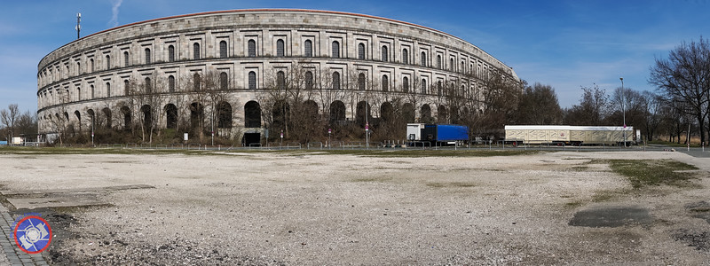 Exterior of the Nuremberg Coliseum Built by Hitler - Bigger than the One in Rome (©simon@myeclecticimages.com)