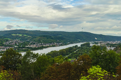 Koblenz in the Rhine Valley