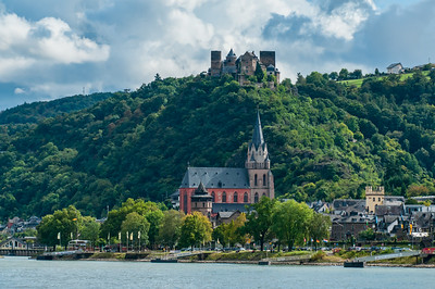 Oberwesel Castle and Town