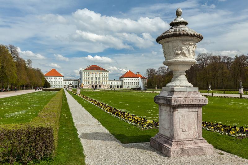 Nymphenburg Palace. Munich, Germany