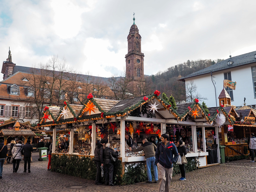 Christmas market in Heidelberg, Germany