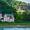 Reichenstein Castle and St Clement's Chapel