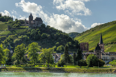 Stahleck Castle and Bacharach