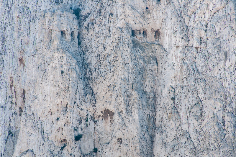 Tall cliffs spotted in Gibraltar