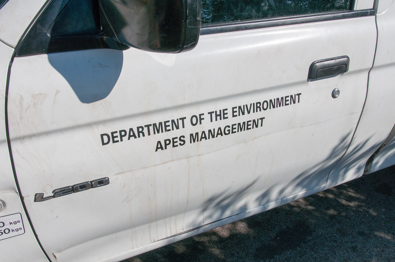 Department of the Environment vehicle - Gibraltar