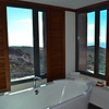 Check out the view from the tub!
