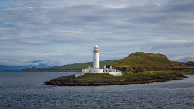 Lismore Lighthouse, from ferry to Isle of Mull