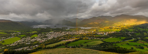 Sunrise from Latrigg, Lakes District