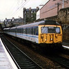 A class 305 EMU at Edinburgh Haymarket.