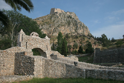 The imposing Palamidi Fortress
