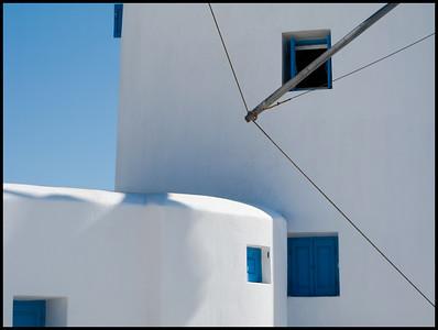Windmill, Mykonos Town