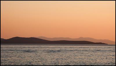 Mykonos at sunset