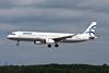 SX-DVP Airbus A321-232 c/n 3527 Dusseldorf/EDDL/DUS 03-08-08